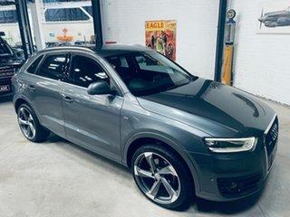 2015 Audi Q3 8U MY14 TFSI S Tronic Quattro Grey 7 Speed Sports Automatic Dual Clutch Wagon.
