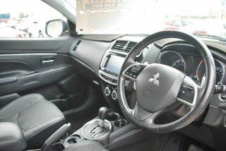 2014 Mitsubishi ASX XB MY15 XLS (2WD) Silver Continuous Variable Wagon