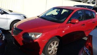 2004 Mazda 3 Red Hatchback