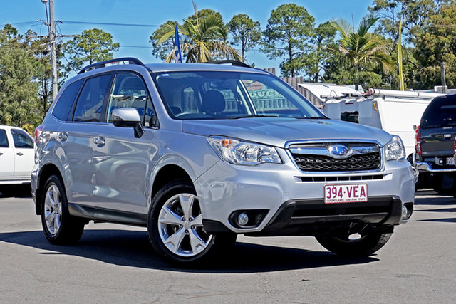 Used Subaru Forester S4 MY14 2.0i-L AWD Chandler, 2014 Subaru Forester S4 MY14 2.0i-L AWD Ice Silver 6 Speed Manual Wagon