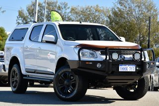 2015 Holden Colorado RG MY16 LS-X Crew Cab White 6 Speed Sports Automatic Utility.
