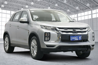 2020 Mitsubishi ASX XD MY21 ES 2WD Sterling Silver 1 Speed Constant Variable Wagon.