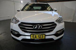 2017 Hyundai Santa Fe DM5 MY18 Active White 6 Speed Sports Automatic Wagon