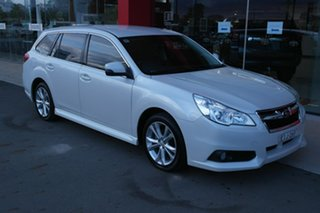 2014 Subaru Liberty B5 MY14 2.5i Lineartronic AWD White 6 Speed Constant Variable Wagon