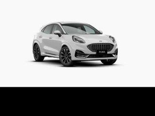2021 Ford Puma JK 2021.25MY ST-Line V Frozen White 7 Speed Sports Automatic Dual Clutch Wagon