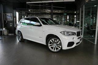 2017 BMW X5 F15 sDrive25d White 8 Speed Automatic Wagon.