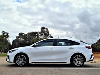 2021 Kia Cerato BD MY21 GT DCT Snow White Pearl 7 Speed Sports Automatic Dual Clutch Hatchback