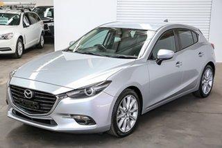 2016 Mazda 3 BM5438 SP25 SKYACTIV-Drive GT Silver 6 Speed Sports Automatic Hatchback.