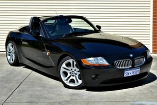 2003 BMW Z4 E85 Steptronic Black 5 Speed Sports Automatic Roadster.