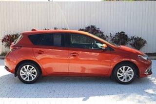 2018 Toyota Corolla ZRE182R Ascent S-CVT Orange 7 Speed Constant Variable Hatchback.
