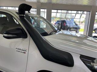 2017 Toyota Hilux GUN126R SR Double Cab White 6 Speed Manual Utility