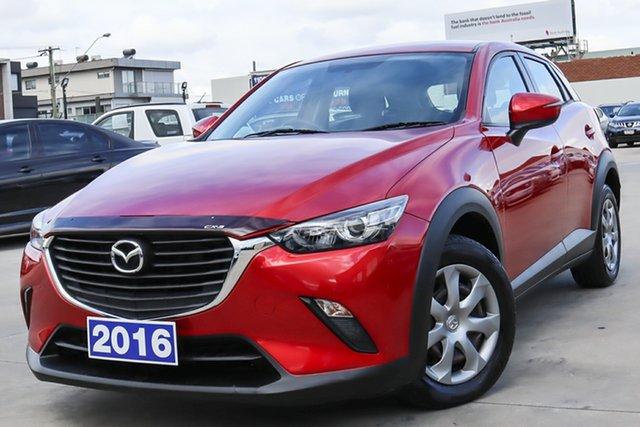 Used Mazda CX-3 DK2W7A Neo SKYACTIV-Drive Coburg North, 2016 Mazda CX-3 DK2W7A Neo SKYACTIV-Drive Red 6 Speed Sports Automatic Wagon