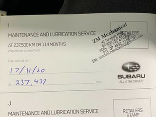 2012 Subaru Forester S3 MY12 X AWD Luxury Edition Grey 5 Speed Manual Wagon