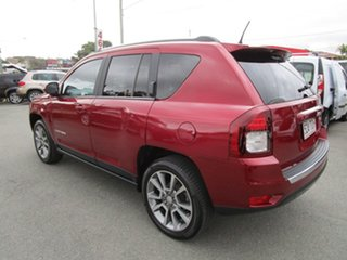 2013 Jeep Compass MK MY14 Limited Burgundy 6 Speed Sports Automatic Wagon.