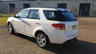 2012 Ford Territory SZ TX (4x4) White 6 Speed Automatic Wagon