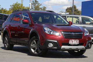 2014 Subaru Outback B5A MY14 2.0D Lineartronic AWD Red 7 Speed Constant Variable Wagon.