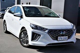 2020 Hyundai Ioniq AE.3 MY20 Plug-IN Hybrid Elite Polar White 6 Speed Auto Dual Clutch Hatchback.