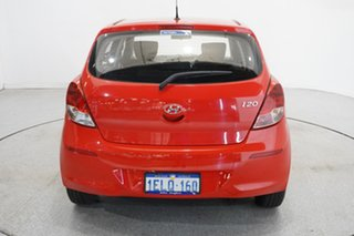 2014 Hyundai i20 PB MY14 Active Electric Red 4 Speed Automatic Hatchback