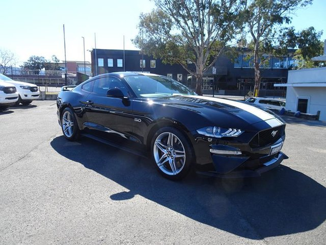 Used Ford Mustang FN 2021.50MY GT Nowra, 2021 Ford Mustang FN 2021.50MY GT Shadow Black 6 Speed Manual Fastback