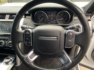 2017 Land Rover Discovery Series 5 L462 MY17 First Edition White 8 Speed Sports Automatic Wagon