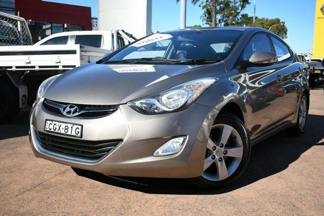 Used Hyundai Elantra MD Elite Brookvale, 2012 Hyundai Elantra MD Elite Gold 6 Speed Automatic Sedan