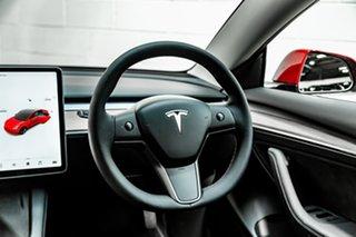 2021 Tesla Model 3 MY21 Standard Range Plus Red 1 Speed Reduction Gear Sedan