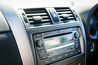 2008 Toyota Corolla ZRE152R Ultima Grey 4 Speed Automatic Sedan