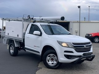 2016 Holden Colorado RG MY16 LS White 6 Speed Sports Automatic Cab Chassis.