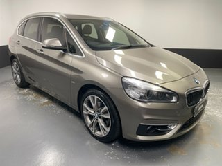 2017 BMW 2 Series F45 220i Active Tourer Steptronic Luxury Line Silver 8 Speed Automatic Hatchback.