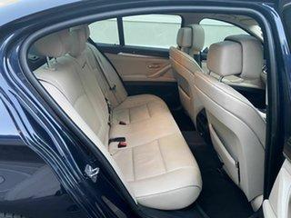 2011 BMW 5 Series F10 520d Steptronic Blue 8 Speed Sports Automatic Sedan
