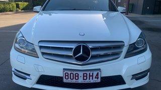 2011 Mercedes-Benz C250 W204 MY11 Avantgarde BE White 7 Speed Automatic G-Tronic Sedan.
