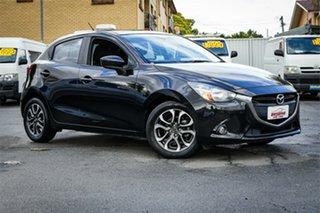 2014 Mazda 2 DJ2HAA Genki Black 6 Speed Sports Automatic Hatchback.