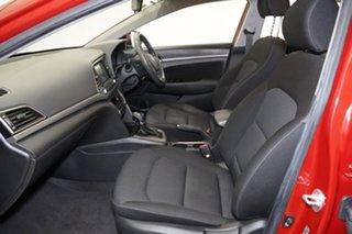 2016 Hyundai Elantra AD MY17 Active Red 6 Speed Sports Automatic Sedan