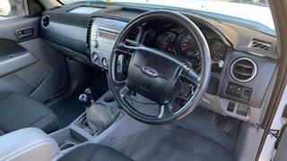 2010 Ford Ranger PK XL (4x4) White 5 Speed Manual Dual Cab Pick-up