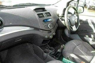 2011 Holden Barina Spark MJ MY11 CD White 5 Speed Manual Hatchback