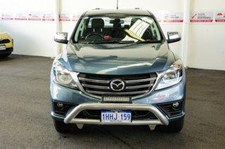 2018 Mazda BT-50 MY18 XTR (4x4) Blue 6 Speed Automatic Dual Cab Utility.