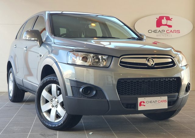 Used Holden Captiva CG Series II 7 SX Brendale, 2012 Holden Captiva CG Series II 7 SX Silver 6 Speed Sports Automatic Wagon
