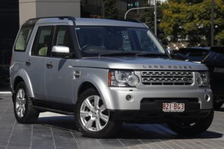 2013 Land Rover Discovery 4 Series 4 L319 MY13 SDV6 HSE Indus Silver 8 Speed Sports Automatic Wagon.