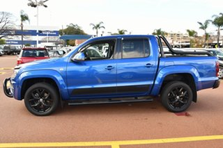 2017 Volkswagen Amarok 2H MY18 TDI550 4MOTION Perm Ultimate Blue 8 Speed Automatic Utility