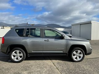 2012 Jeep Compass MK MY12 Sport CVT Auto Stick Grey 6 Speed Constant Variable Wagon.