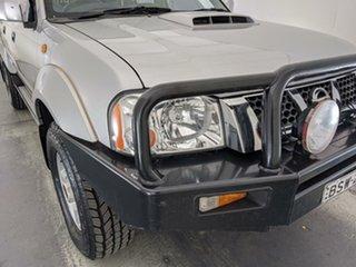 2010 Nissan Navara D22 MY2009 ST-R Silver 5 Speed Manual Utility.