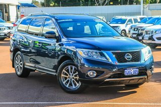 2014 Nissan Pathfinder R52 MY15 ST-L X-tronic 4WD Blue 1 Speed Constant Variable Wagon Hybrid.