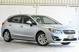 2016 Subaru Impreza G4 MY16 2.0i Lineartronic AWD Silver 6 Speed Constant Variable Hatchback.