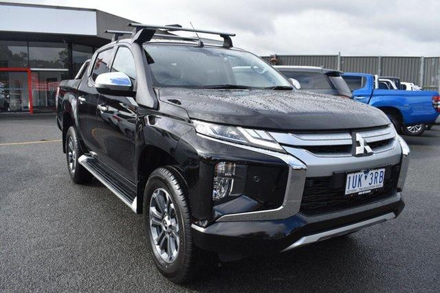 Used Mitsubishi Triton MR MY19 GLS Double Cab Wantirna South, 2019 Mitsubishi Triton MR MY19 GLS Double Cab Black 6 Speed Sports Automatic Utility