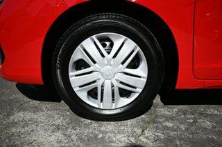2018 Honda Jazz GK MY18 VTi Red 5 Speed Manual Hatchback.