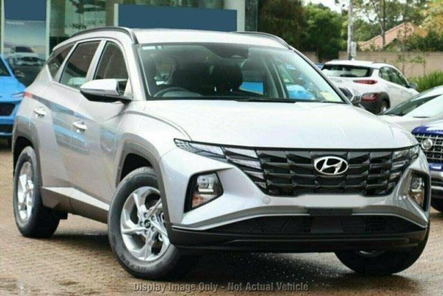 New Hyundai Tucson NX4.V1 MY22 2WD Castle Hill, 2021 Hyundai Tucson NX4.V1 MY22 2WD Shimmering Silver 6 Speed Automatic Wagon