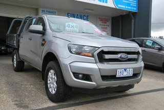 2016 Ford Ranger PX MkII MY17 XLS 3.2 (4x4) Silver 6 Speed Automatic Double Cab Pick Up