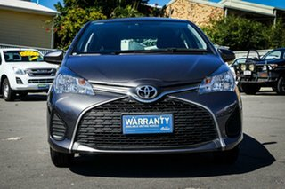2016 Toyota Yaris NCP130R Ascent Grey 4 Speed Automatic Hatchback.