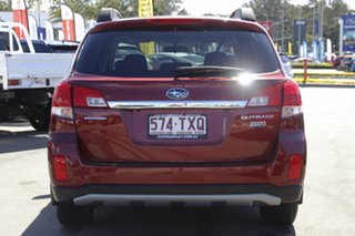 2014 Subaru Outback B5A MY14 2.0D Lineartronic AWD Red 7 Speed Constant Variable Wagon