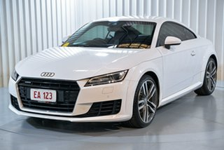 2014 Audi TT 8J MY14 S Tronic Quattro White 6 Speed Sports Automatic Dual Clutch Coupe.